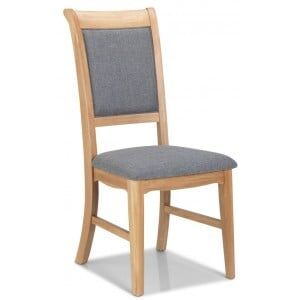 Vezelay Natural Oak Furniture Dining Chair Pair
