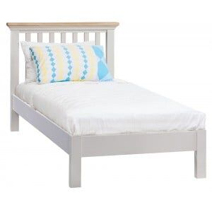 Cotswold Solid Oak Cream Painted Furniture 3ft Single Bed