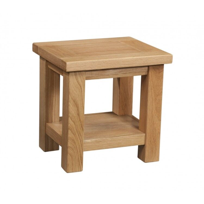 Devonshire Dorset Oak Furniture Lamp Table