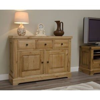 Deluxe Solid Oak Furniture Medium Sideboard