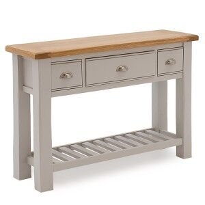 Vida Living Amberly Painted & Oak Console Table