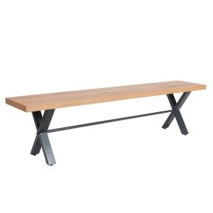 Elliptus Oak Furniture 130cm Small Bench