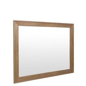 Heritage Smoked Oak Furniture Wall Mirror