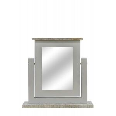 Ashen Painted Grey Range Dressing Table Mirror