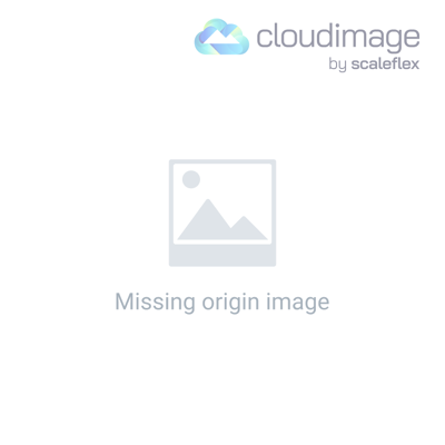 Kolding Blue Fabric and Metal Chair Rocking Chair with Headrest