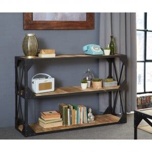 Ascot Industrial Furniture Console Table