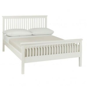 Bentley Designs Atlanta White Painted Furniture Small 4ft Double Bed