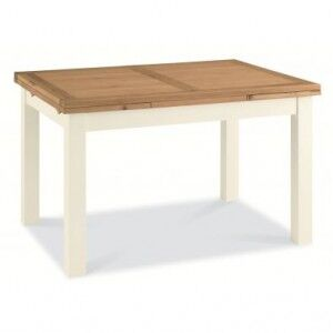 Bentley Designs Provence Painted Oak 4-6 Leaf Extension Dining Table