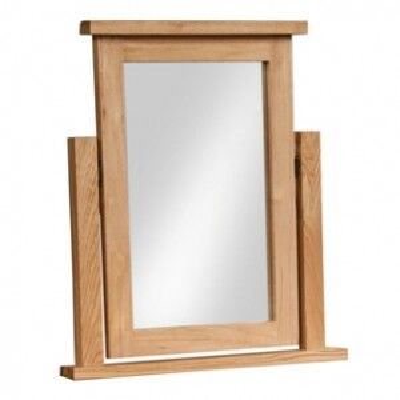 Dorset Oak Furniture Dressing Table Mirror