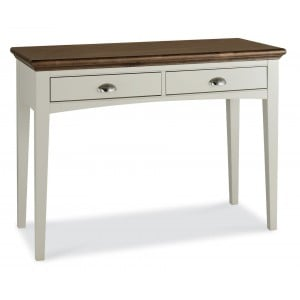 Hampstead Soft Grey & Walnut Furniture Dressing Table