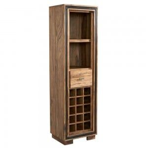 Jodhpur Sheesham Furniture Wine Bookcase