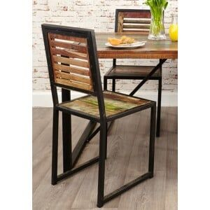 New Urban Chic Furniture Dining Chair (Pair)
