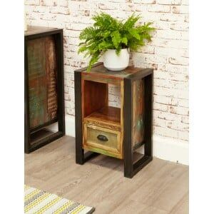 New Urban Chic Furniture Lamp Table / Bedside Cabinet