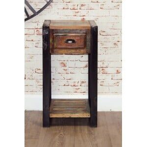 New Urban Chic Furniture Plant Stand/Lamp Table
