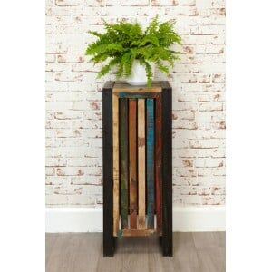 New Urban Chic Furniture Tall Plant Stand / Lamp Table
