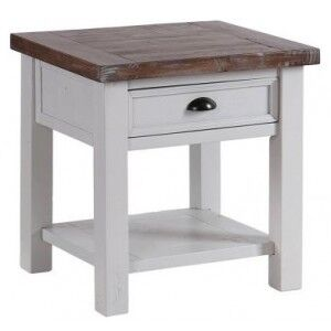 The Hamptons Furniture Lamp Table with 1 Drawer