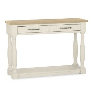 Bentley Designs Chartreuse White Console Table
