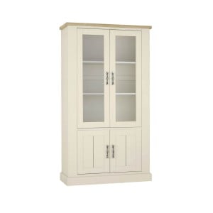 Bentley Designs Chartreuse White Display Cabinet